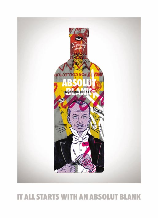Absolut Blank Morning Breath