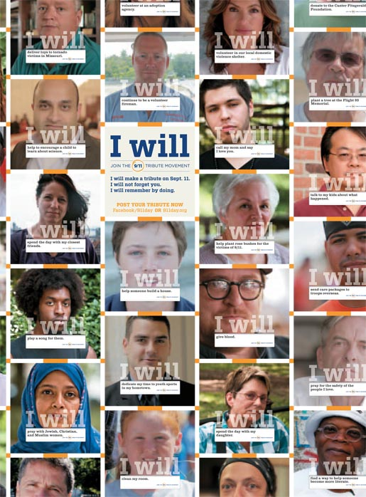 I Will Mosaic Newsweek ad