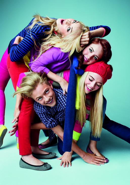 Gap Love comes in Every Shade The Atomics