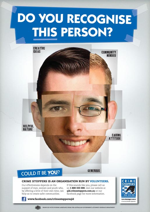 Crime Stoppers Recruitment ad