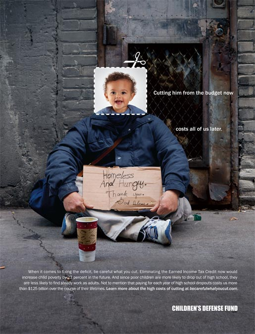 Childrens Defense Fund Be Careful What You Cut - Homeless