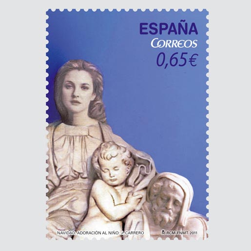 Spain Christmas Stamps 2011