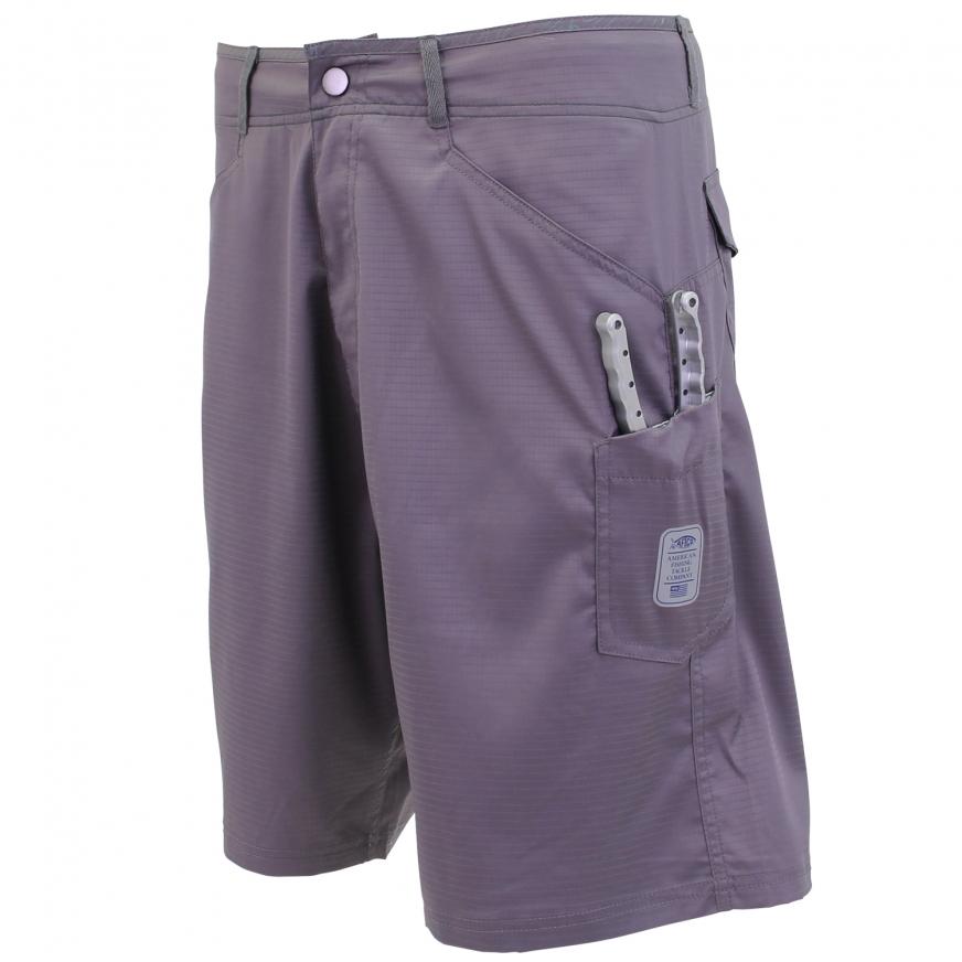 AFTCO Gemini Fishing Shorts [Dark Plum]