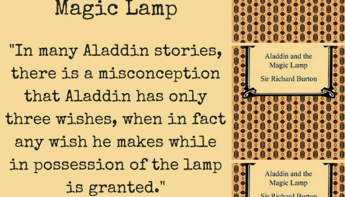 Aladdin and the Magic Lamp, a Book Review