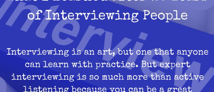 How to Interview: What I Learned after 20 Years of Interviewing People