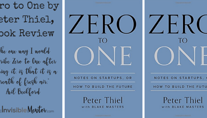 Zero to One by Peter Thiel, Book Review