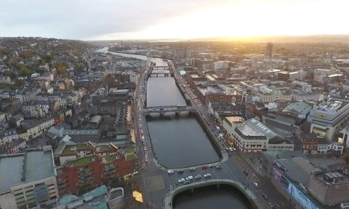 Cork City Helicopter Tour