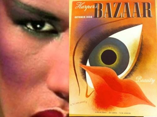 Grace Jones-Harpers-eye