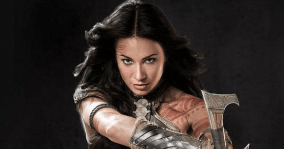 Dejah Thoris played by Lynn Collins in Disney's John Carter