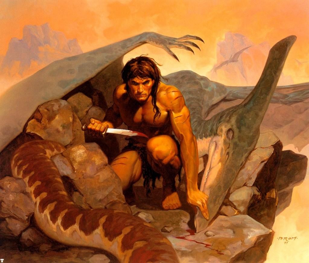 Tarzan Gerald Brom