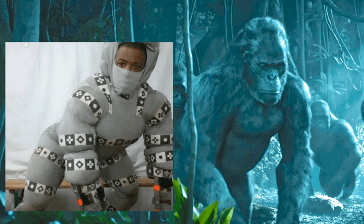 Motion Capture Ape