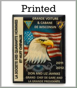 printed custom pins
