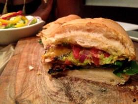 The juicy reggae reggae chicken sandwich with a fiery kick!