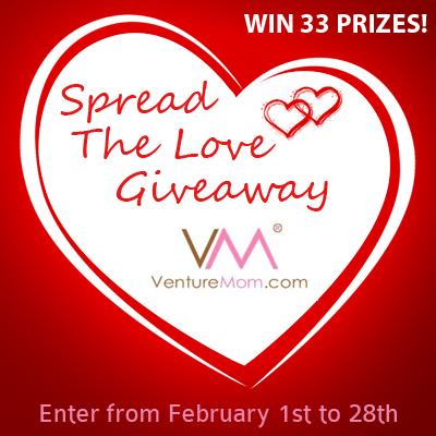 VentureMom - Spread the Love FB post