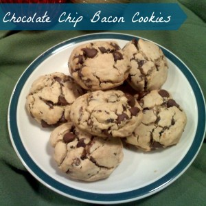 Chocolate Chip Bacon Cookies (12 Days Of Desserts)