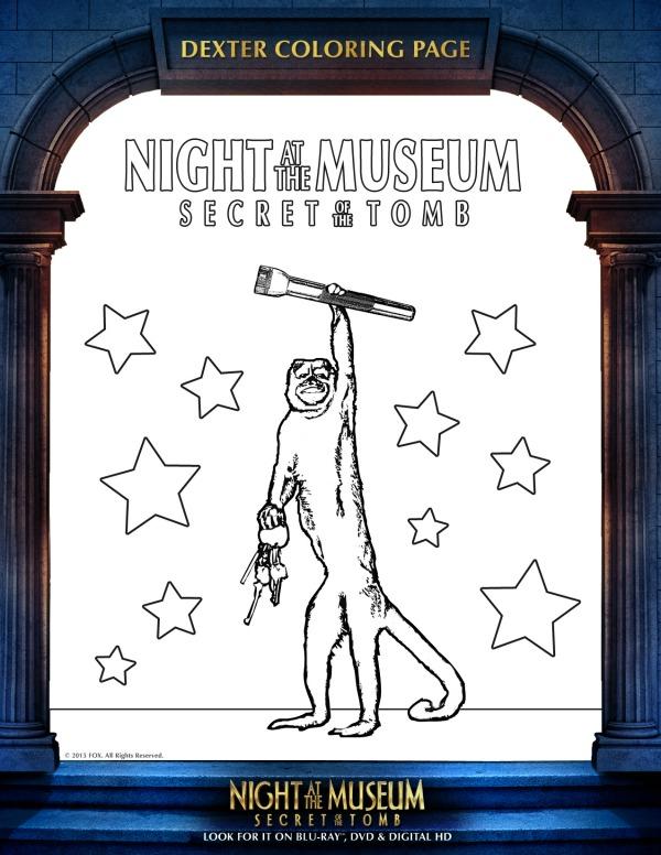 nightatthemuseumcoloringpage