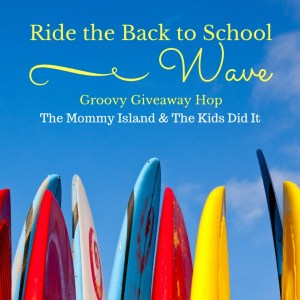 Start The School Year Off On The Right Foot With A Groovy Back To School Giveaway!
