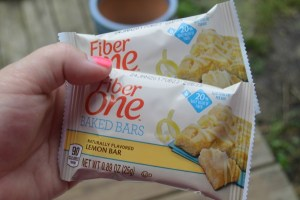 Fiber One Oats & Chocolate Or Lemon Bars Make A Great Go-To Snack!