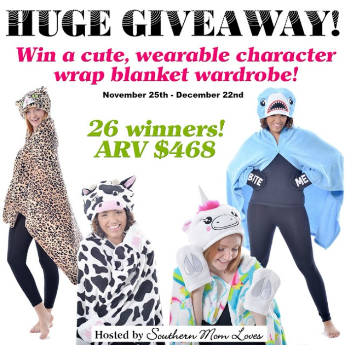 holiday blanket giveaway
