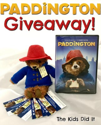 """Beary Great"" Family Night Promotion Featuring Paddington At Ovation Brands Restaurants"