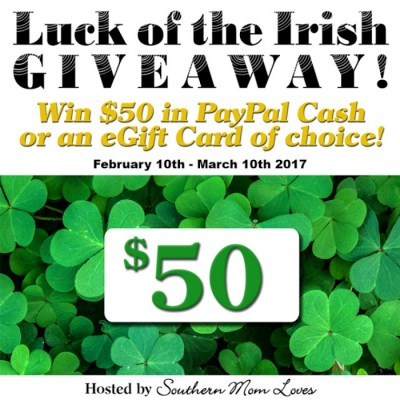 Luck Of The Irish $50 PayPal Cash Giveaway