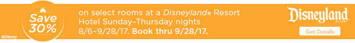 Disneyland Room Discounts