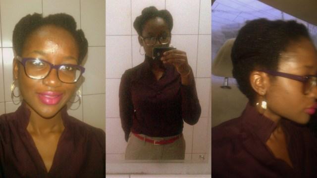 hair last week baby steps