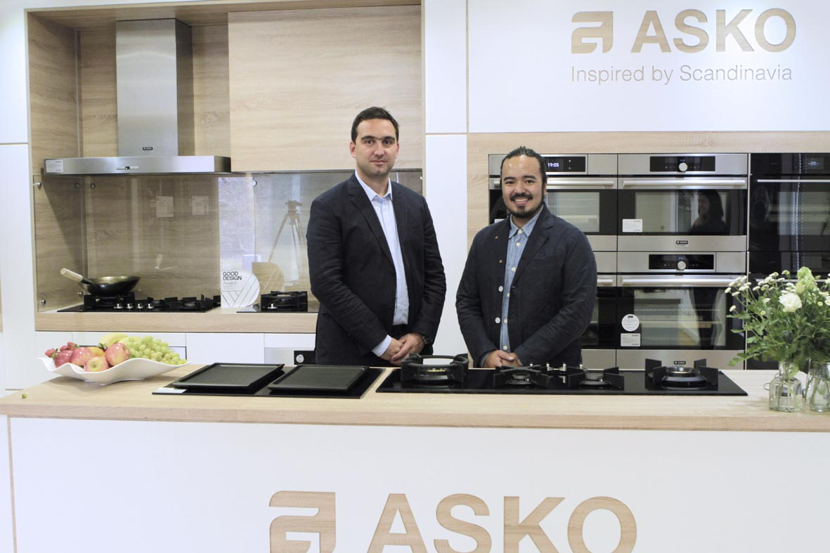 Asko Teams Up With Adam Liaw The Kitchen And Bathroom Blog