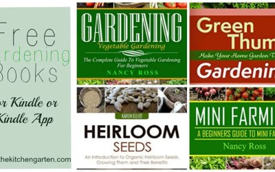 Free Gardening Books on Amazon!