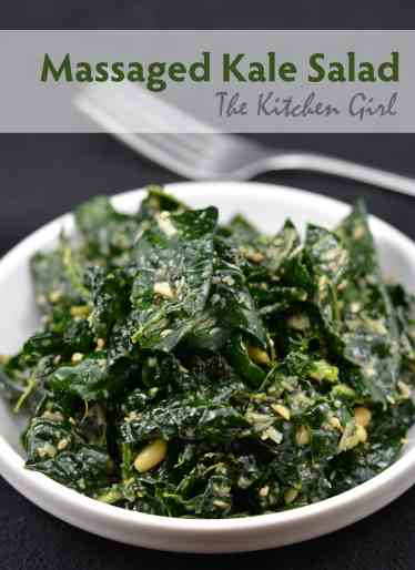 ... of a Massaged Kale Salad recipe with a subtle, Asian-inspired twist