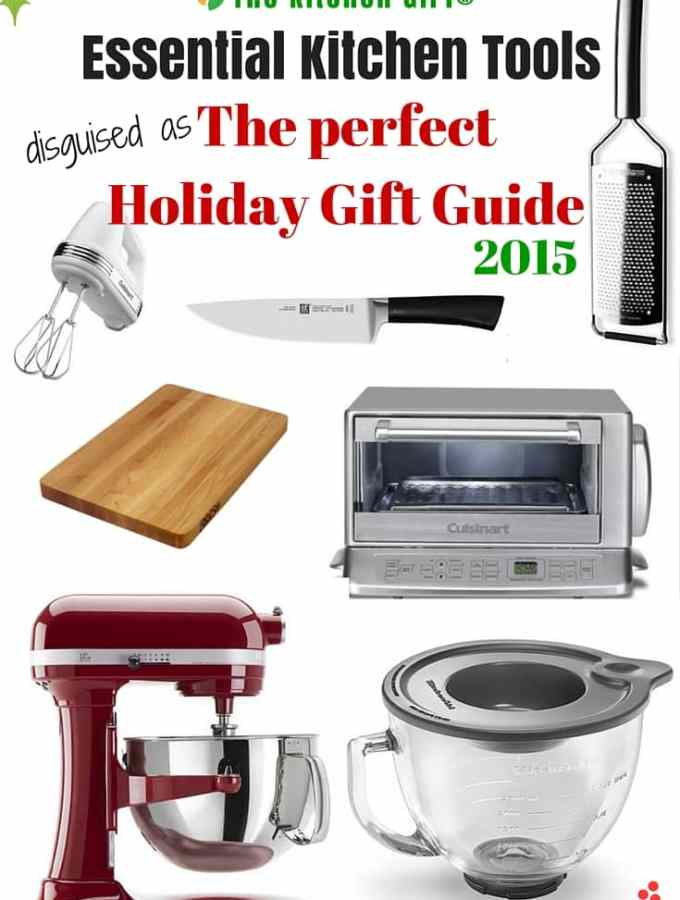 Can't decide on the Nutribullet or Ninja? Or which KitchenAid Stand Mixer to buy? The Kitchen Tools Holiday Gift Guide 2015 gives the HOW and WHY of some essential kitchen tools for healthier eating. It's holiday gift-shopping made easy! thekitchengirl.com