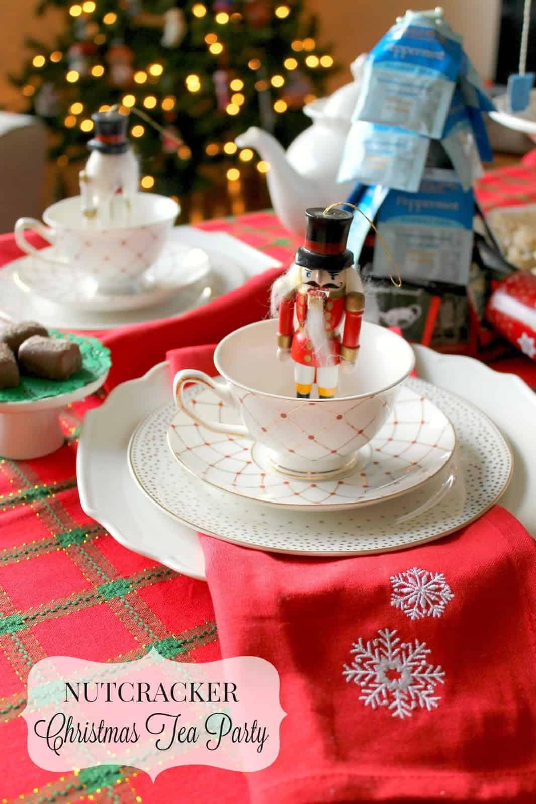 Party Prep: Nutcracker Christmas Tea Party