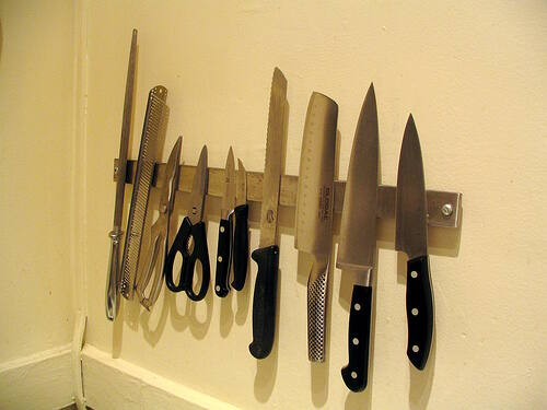 7-knife sharpener - knife collecting