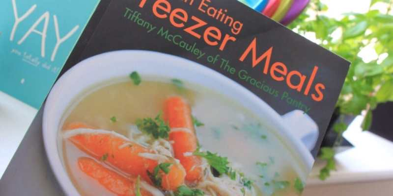 Clean Eating Freezer Meal Giveaway