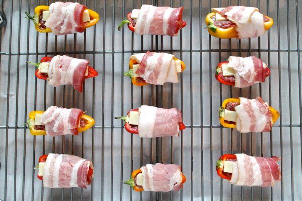 Bacon Cheeseburger Stuffed Peppers