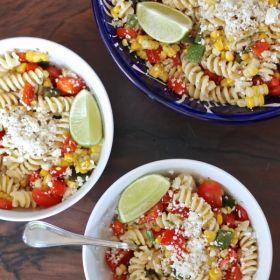 Mexican Corn Pasta Salad