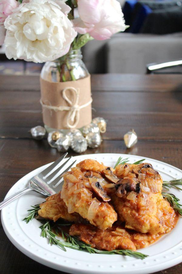 Chicken Marsala - via The Kittchen (vertical)