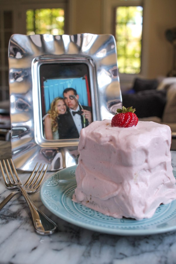 Roasted Strawberry Whipped Cream Frosting-7
