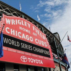 Fly the W! The Cubs Win The World Series