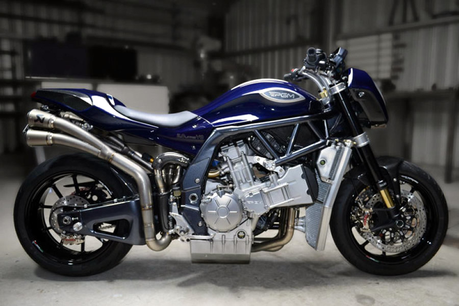 PGMV8 is Your Basic 2 Liter V8 Superbike from Australia