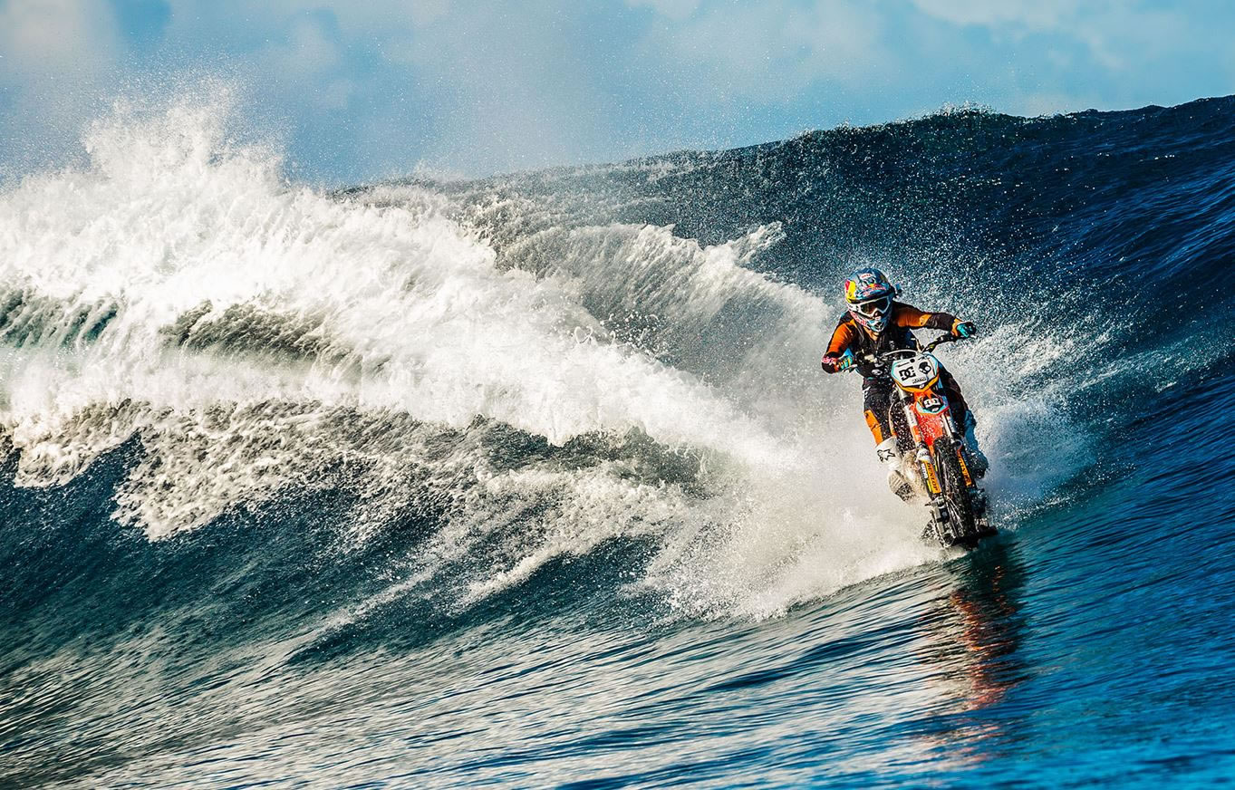 Robbie Maddison Rides the Waves in the Unbelievable Pipe Dream Video