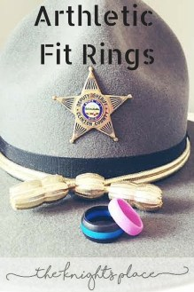 Alternative Wedding Bands police officer