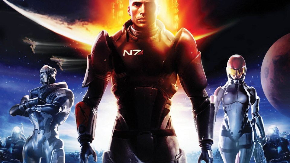Mass Effect Trilogy Unveiled and Mass Effect 1 on PSN