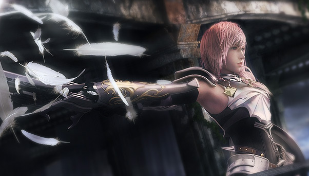 Lightning from Final Fantasy XIII-2 is so hot