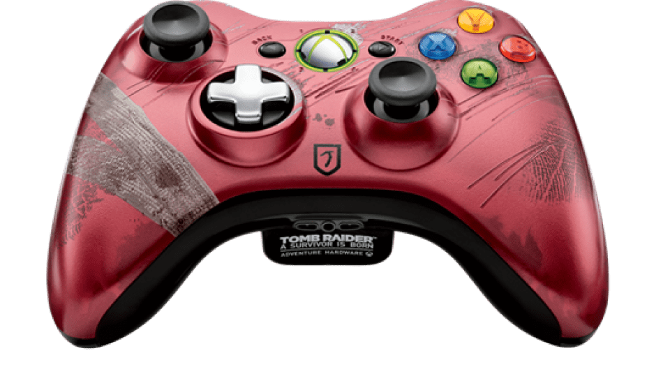 Tomb Raider Xbox 360 Controller Announced