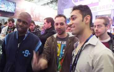 JJ and Rich chatting it up at PAX.