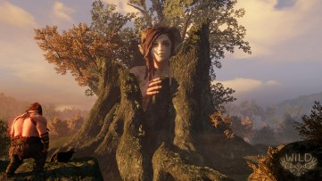 Wild from Wild Sheep Studios, tree lady