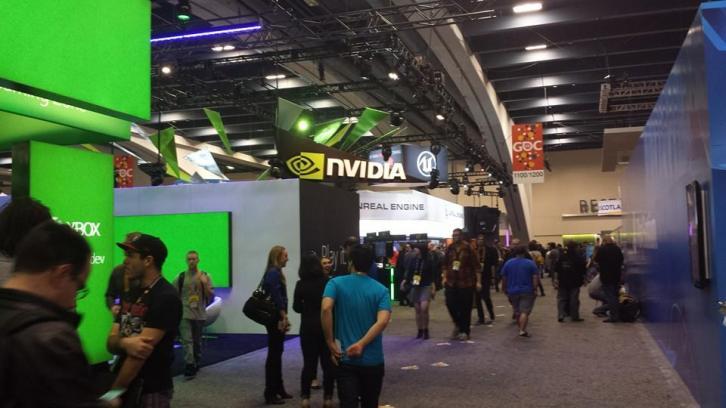 GDC 2015 Expo Floor