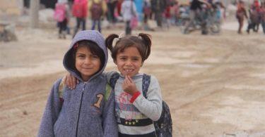 kobane children kurdish school