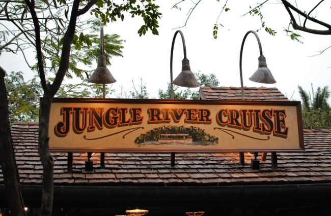 Jungle Cruise Marquee at Hong Kong Disneyland